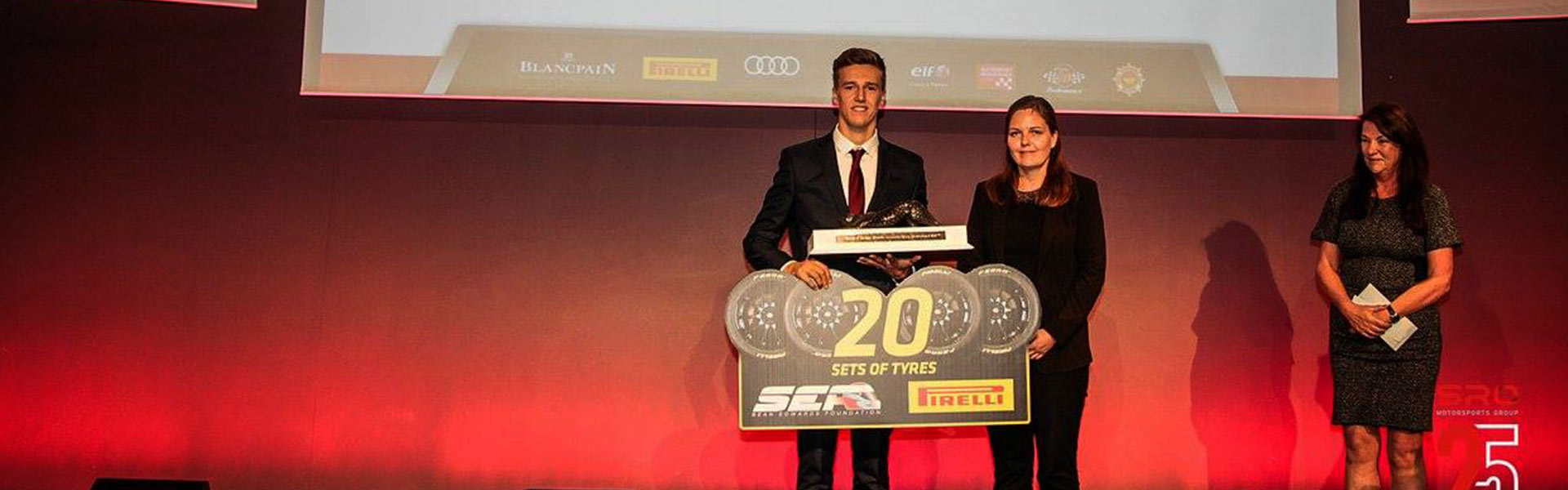 Ben Barnicoat awarded the SEF Trophy for 2017