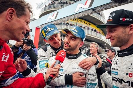Courtesy of Mercedes AMG - 2018 Nurburgring 24H