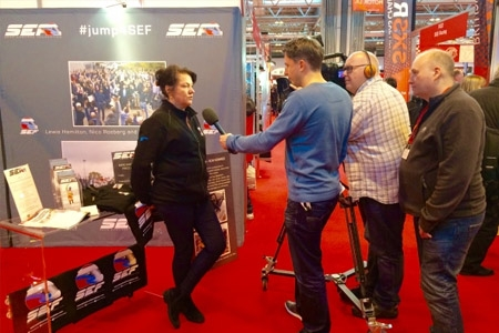 Sean Edwards Foundation at the Auto Sport Show 2015