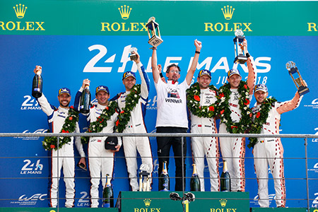 SEF Ambassadors celebrate Podiums at 24 hours of Le Mans