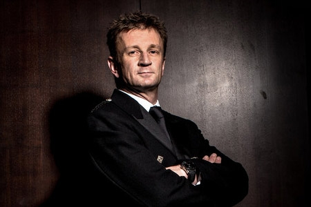 Sean Edwards Foundation supporter, Allan McNish