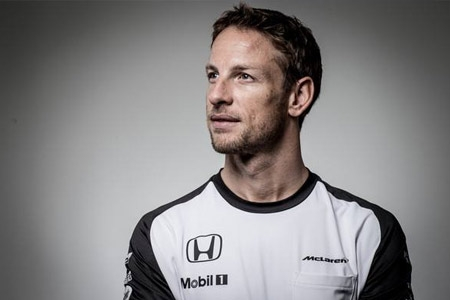 Sean Edwards Foundation supporter, Jenson Button